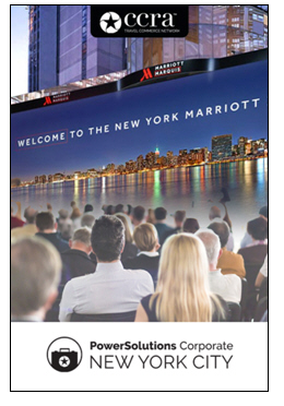 CCRA Announces PowerSolutions Corporate Travel Event Slated for October 2018 at the Marriott Marquis New York City