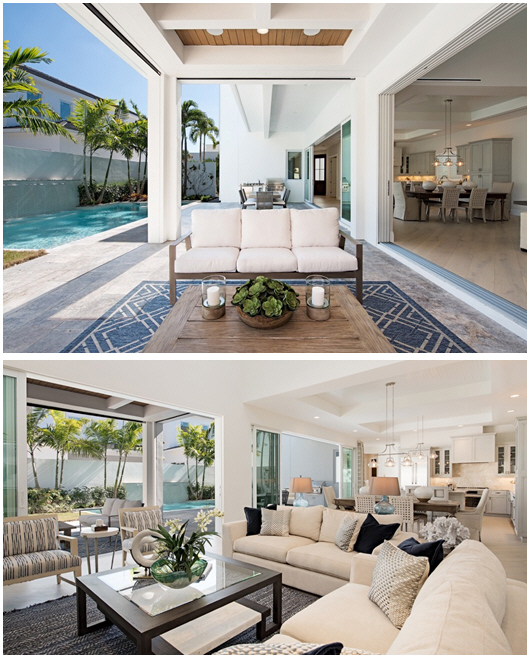 Enclave model at The Residences at Mercato in Naples, located at 9273 Mercato Way