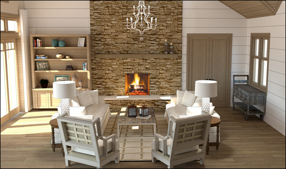 Clive Daniel Home Installs Lutgert Models for North Carolina Linville Ridge Mountain Homes