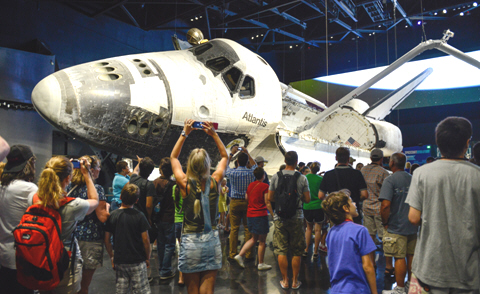 Space Shuttle Atlantis® on display at Kennedy Space Center Visitor Complex
