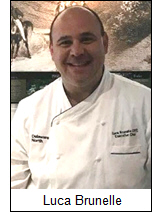 Luca Brunelle has been appointed executive chef of The Gideon Putnam