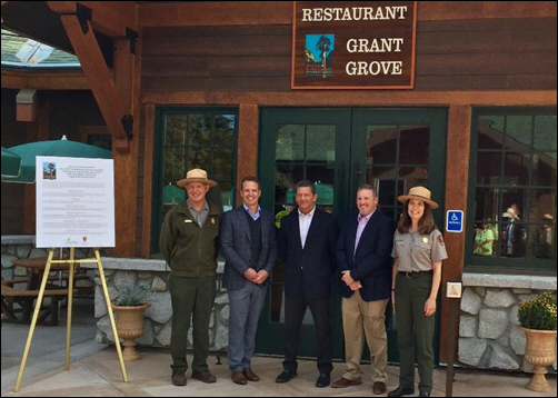 National Park Service and Delaware North Celebrate New, Ecofriendly Restaurant with Ribbon Cutting Ceremony and Menu Tasting