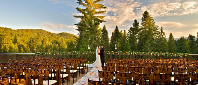 For Couples Who Love Yosemite, Tenaya Lodge Has Been Named a Top Hotel for Weddings