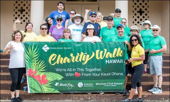 Grand Pacific Resorts Teams Up for Hawaii Charity! Raises Over $34,000 for the 38th Annual Visitor Industry Charity Walk