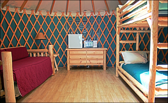 Glamping Enhanced for Vacations at Oregon's Loon Lake Lodge