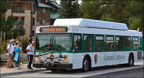 Tusayan Route Shuttle Bus Operations to Begin March 1