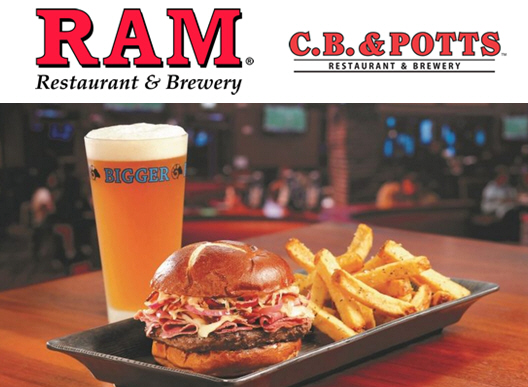 All-New Burger Rama Menu Available at RAM Restaurant Group Locations
