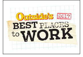Rustic Pathways Named on OUTSIDE's Best Places to Work List, 2017
