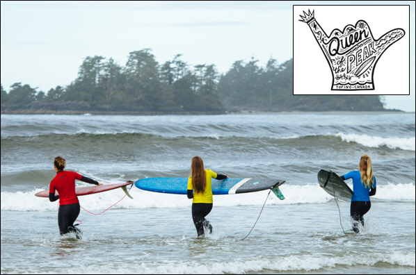 100 Surfers to Compete in 8th Annual ''Queen of the Peak'' Women's Championships September 29 - October 1, 2017, Tofino, British Columbia